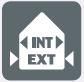 Intérieur / Extérieur abrité